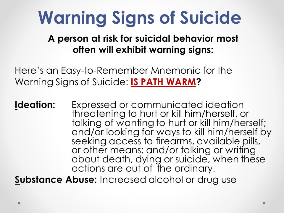 the signs of suicide program essay