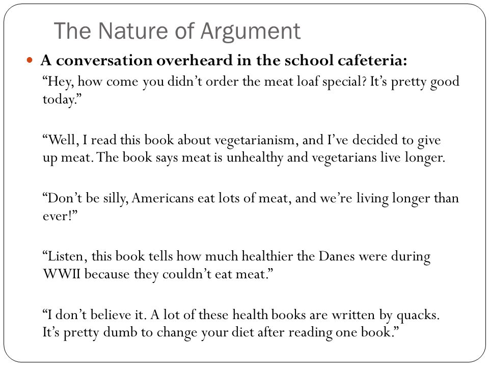 Classification of vegetarians essay