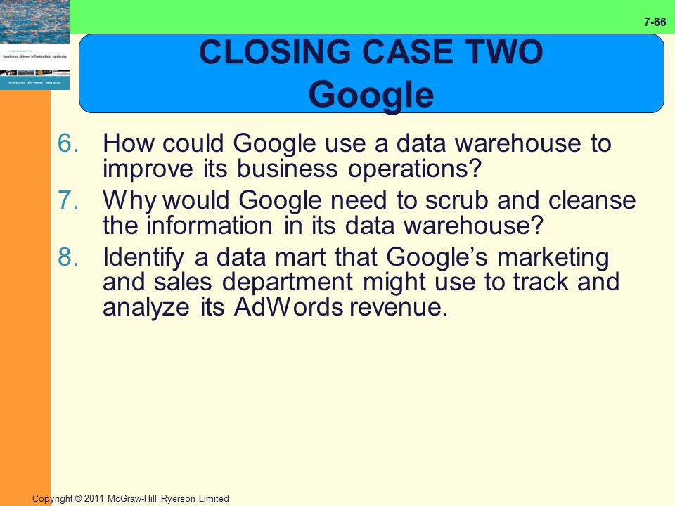 CLOSING CASE TWO Google