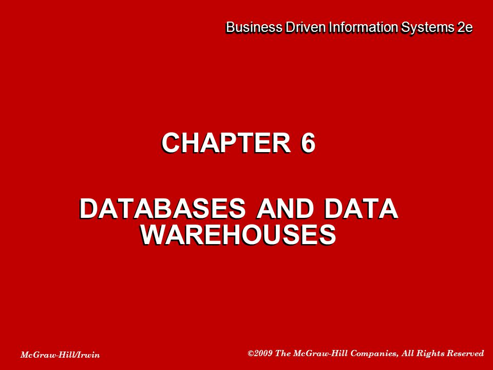 Business Driven Information Systems 2e