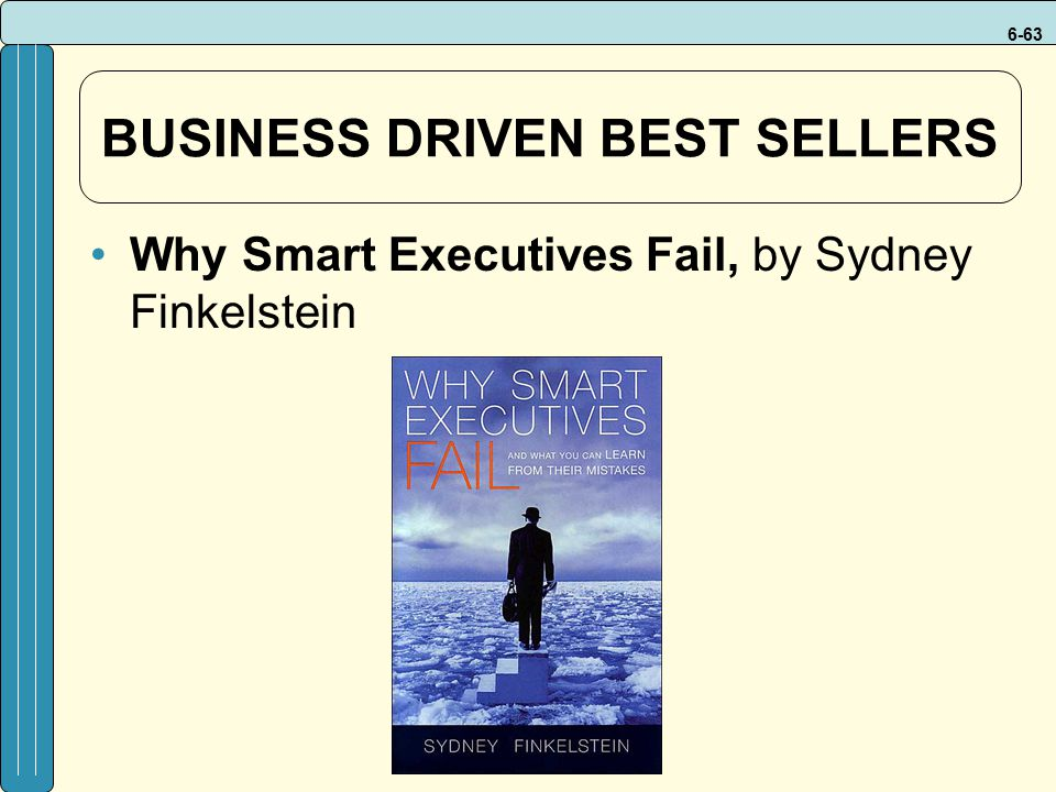 BUSINESS DRIVEN BEST SELLERS