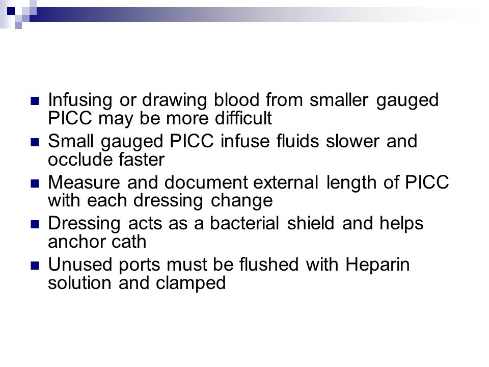 how to make heparin flush