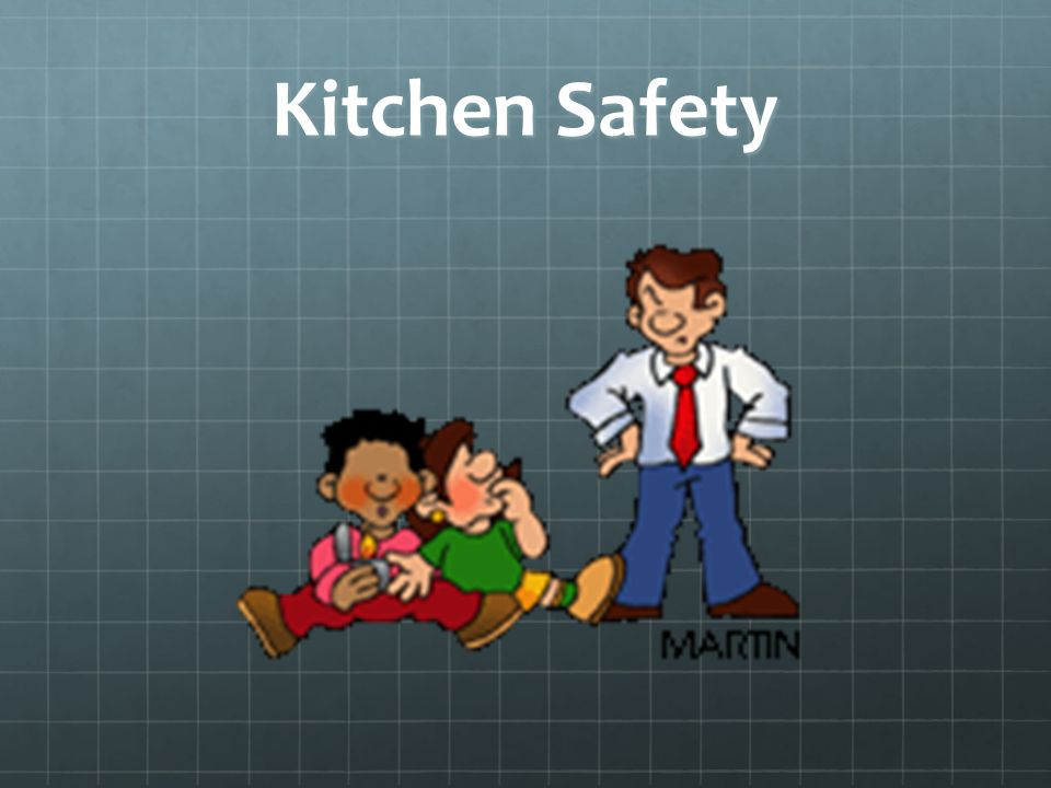 What you need to know to be safe in the facs classroom for 6 kitchen accidents