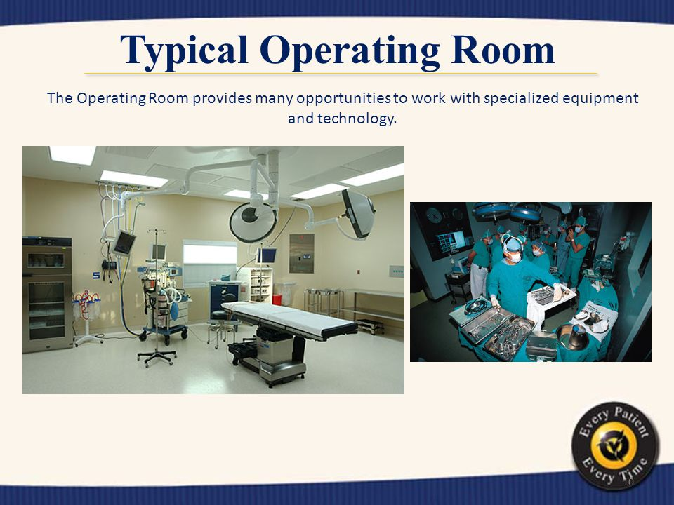 Typical Operating Room
