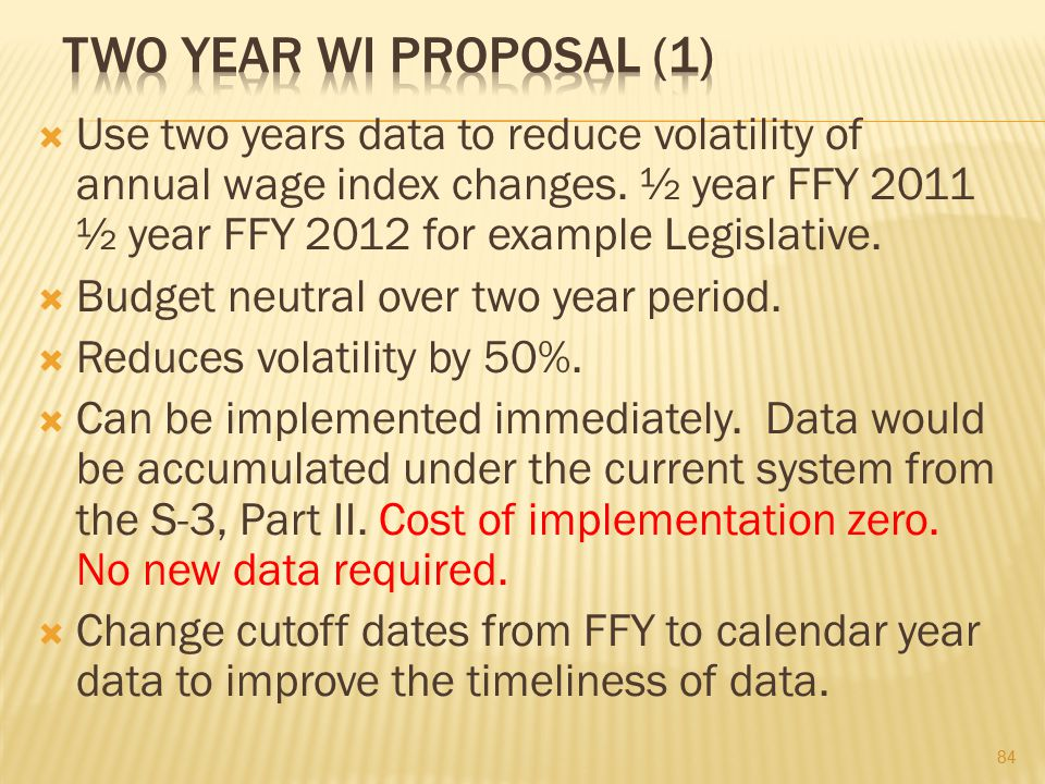Two Year WI Proposal (1)
