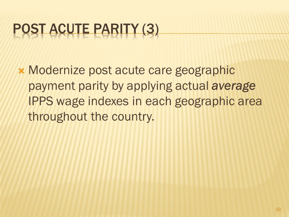 Post Acute Parity (3)