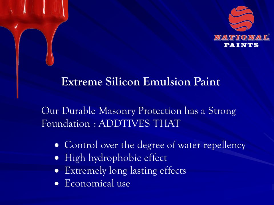 Extreme Silicon Emulsion Paint