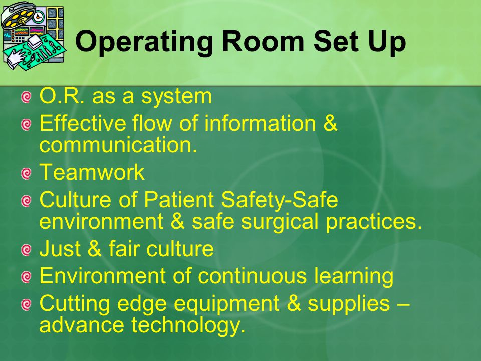 Communication In The Operating Room Setting