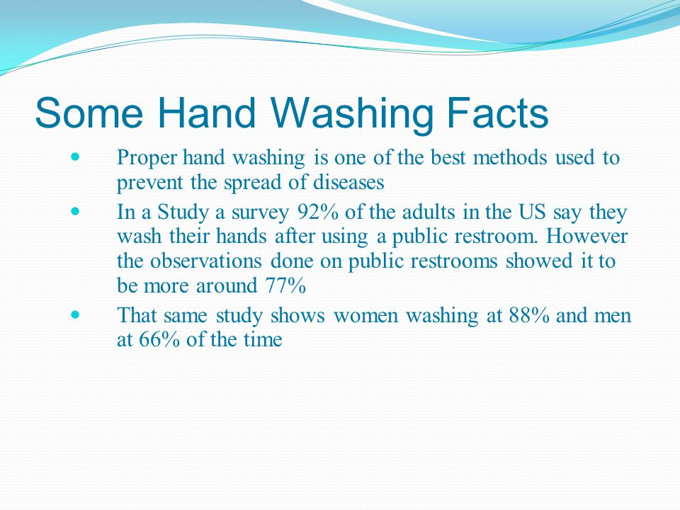 human observation paper handwashing in public restrooms essay