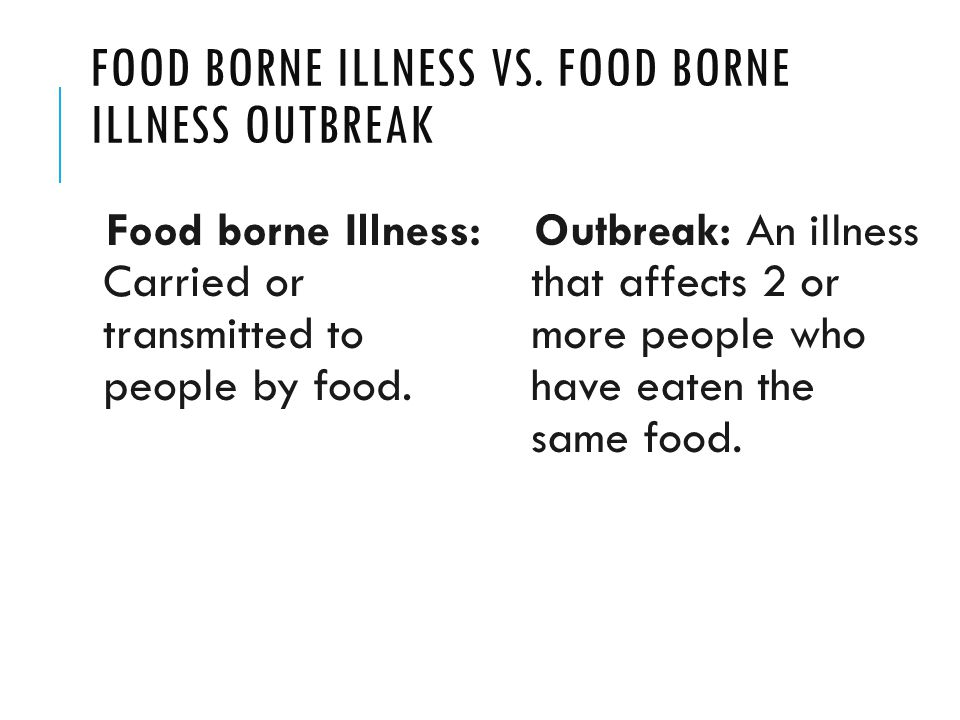 salmonella food borne illness paper Salmonella is an important foodborne pathogen that is estimated to be  responsible for approximately 1 million cases of illness and more than 450  deaths.