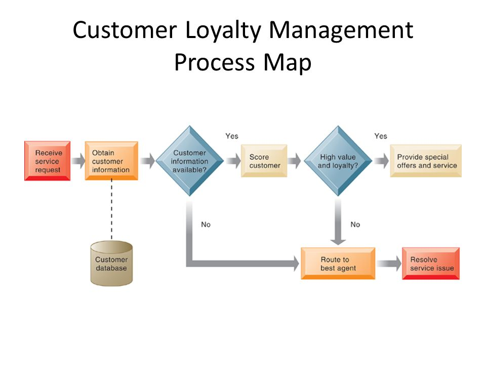 Customer Loyalty Management Process Map
