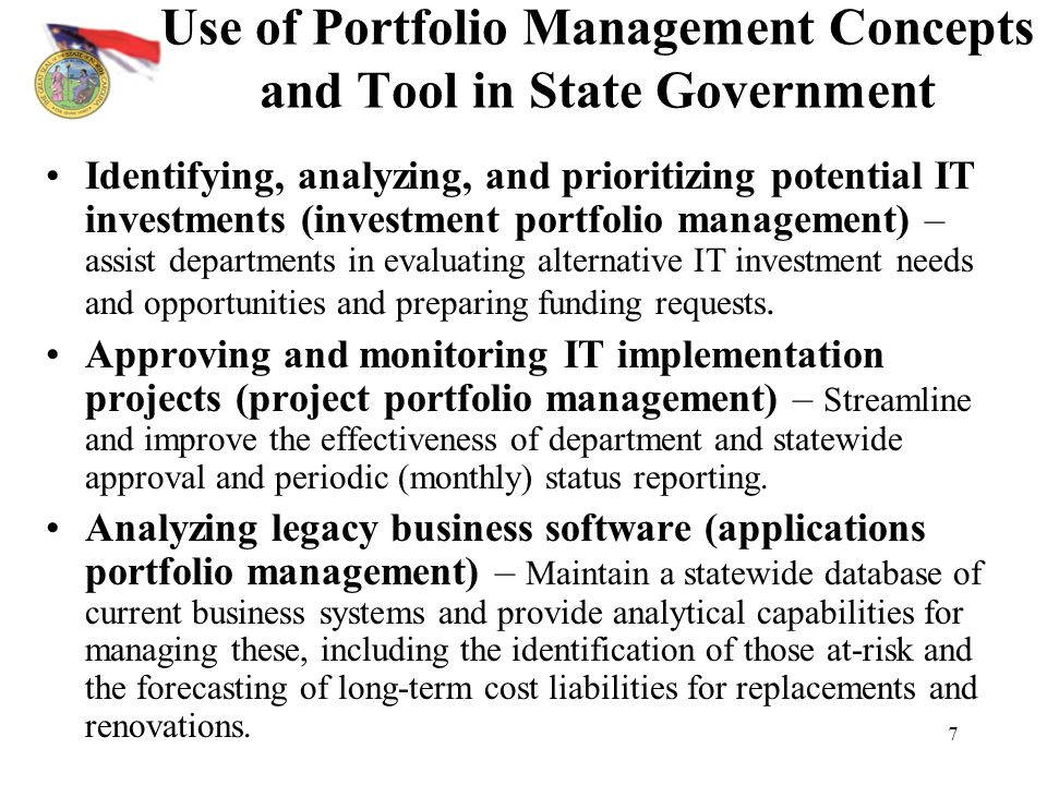 portfolio management concepts I spent sunday afternoon preparing to deliver a training session on portfolio and pipeline management practices it was easy to pull together a bunch of overview materials and a case study for small groups to work through a portfolio review using sample data from a real company.