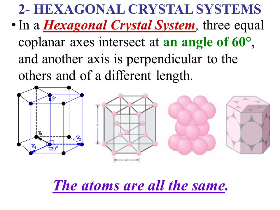 hexagonal close packed crystal structure pdf