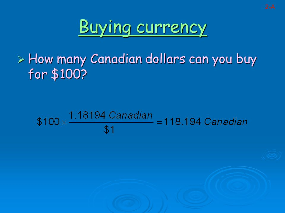 How to buy dollars