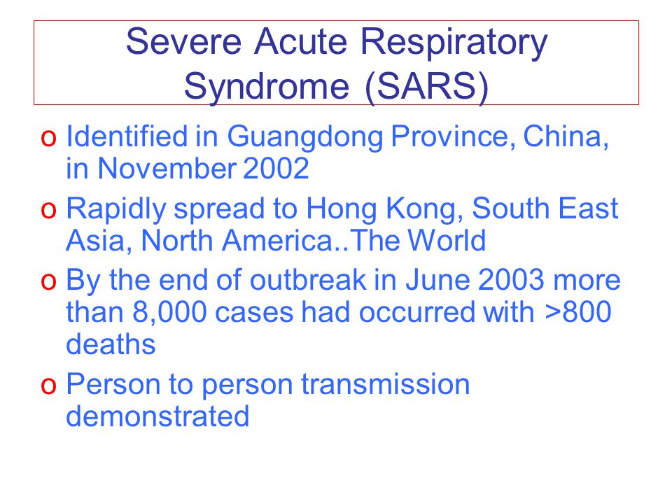 sars severe acute syndrome essay Sars, disease outbreaks - severe acute respiratory syndrome title length color rating : severe acute respiratory syndrome in taiwan essay - in march 2003, the outbreak of severe acute respiratory syndrome (sars), so far the most lethal infectious disease in this century, hit the world, including taiwan.