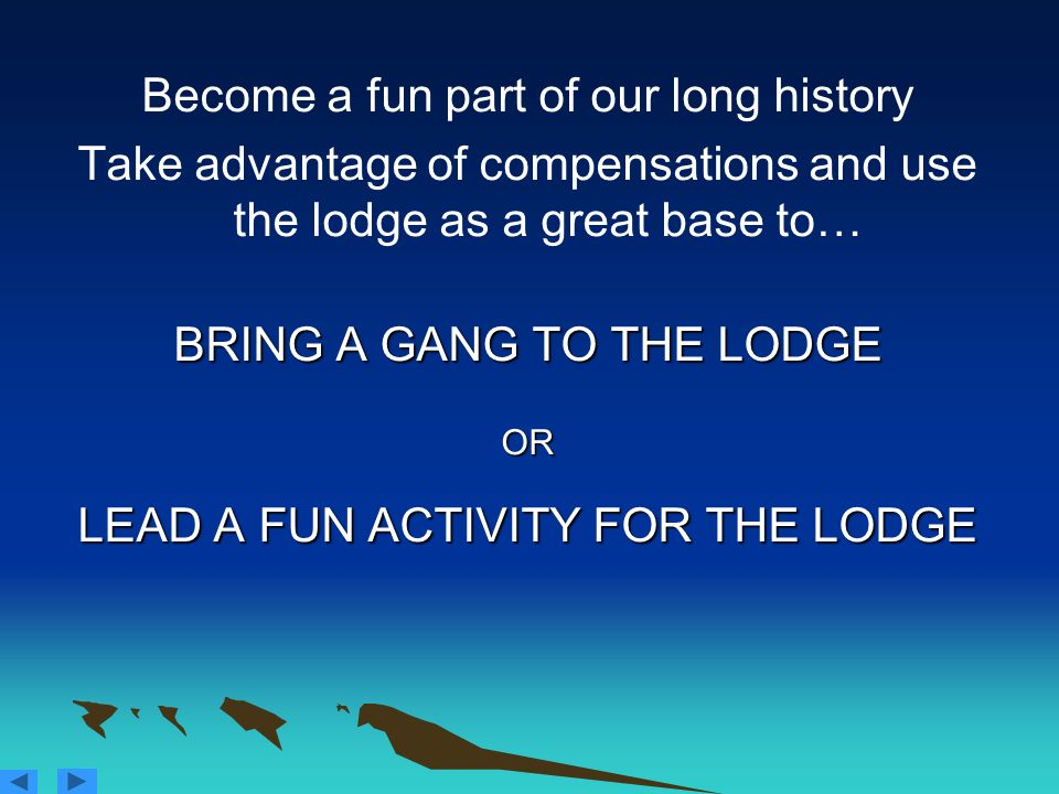 Become a fun part of our long history