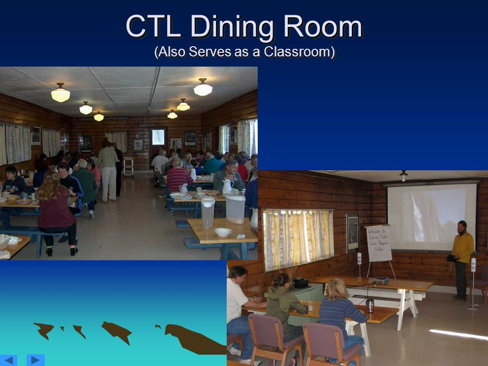 CTL Dining Room (Also Serves as a Classroom)