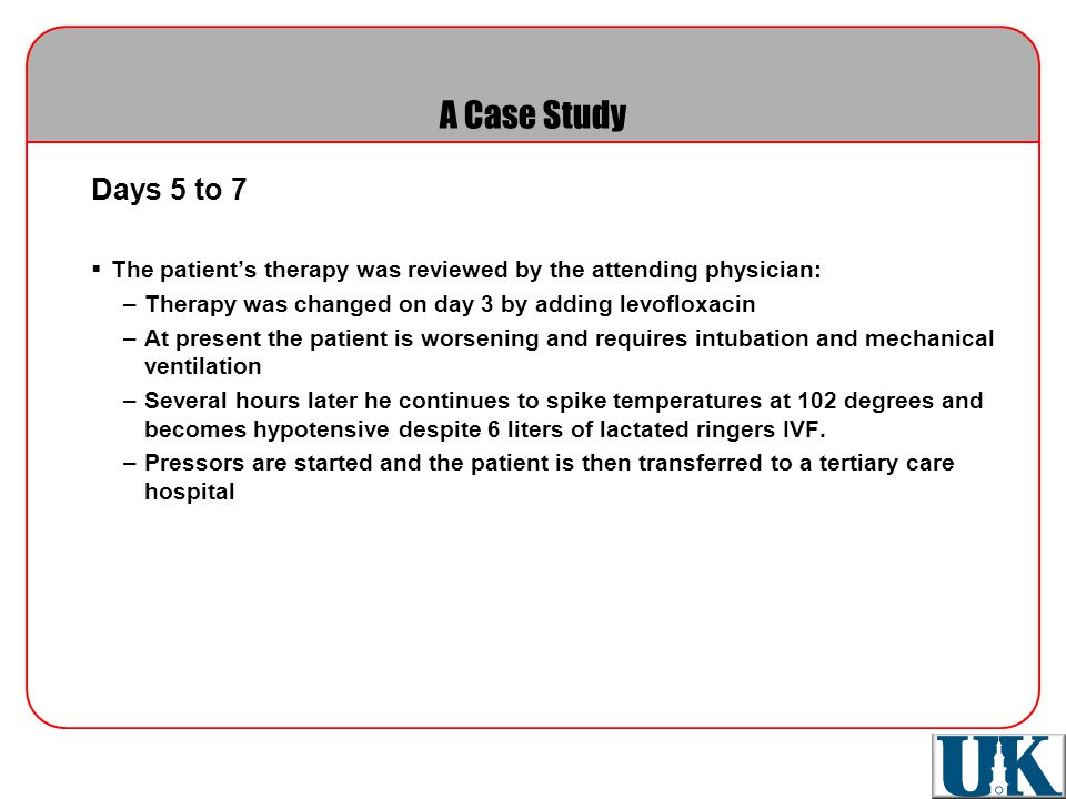 hospital acquired pneumonia case study