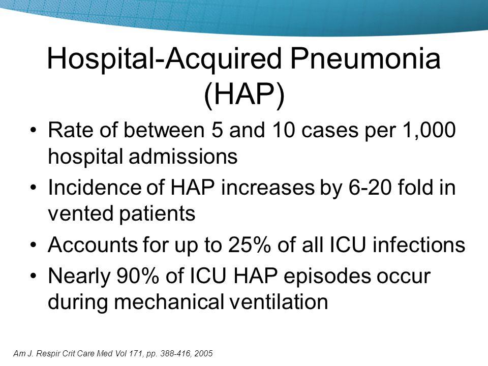 nosocomial pneumonia icd 10