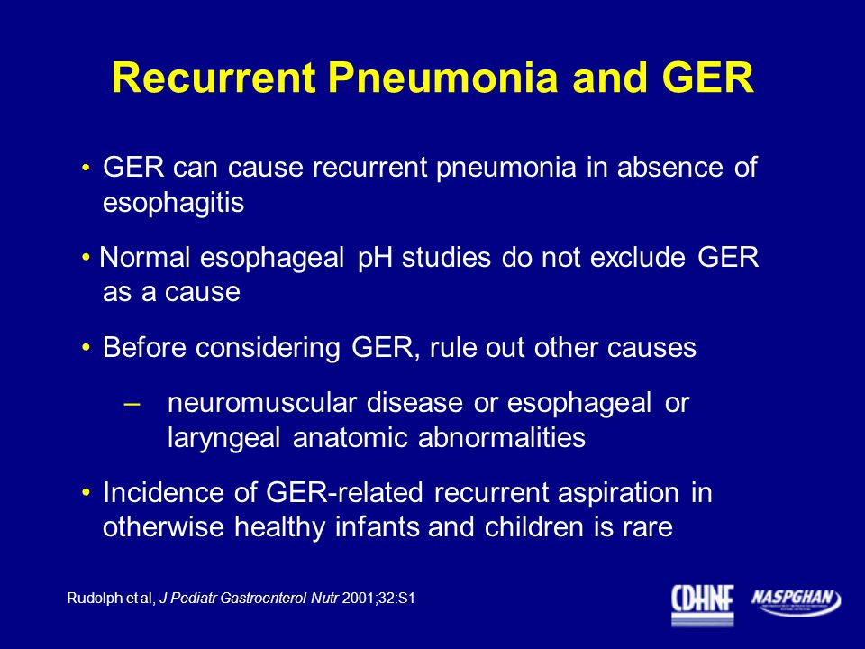 recurrent pneumonia in children and its relationship