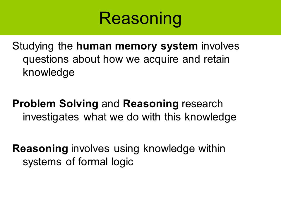Methods used to study memory