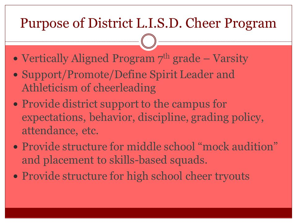 Lovejoy ISD Cheerleading  Ppt Video Online Download
