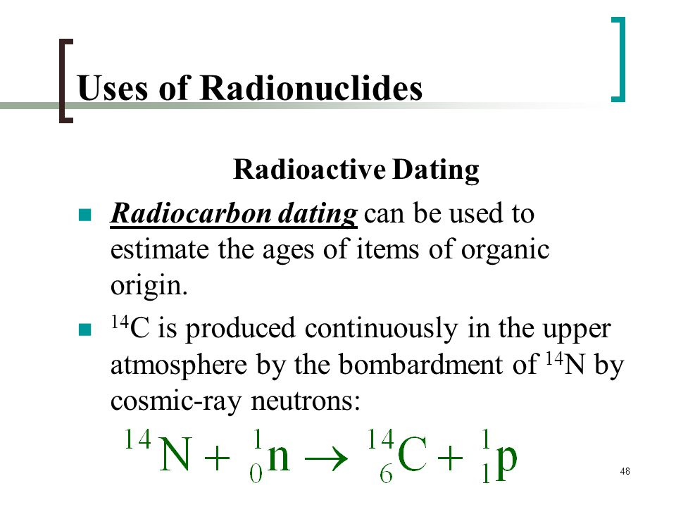 how is radioactive dating used to estimate the age of objects
