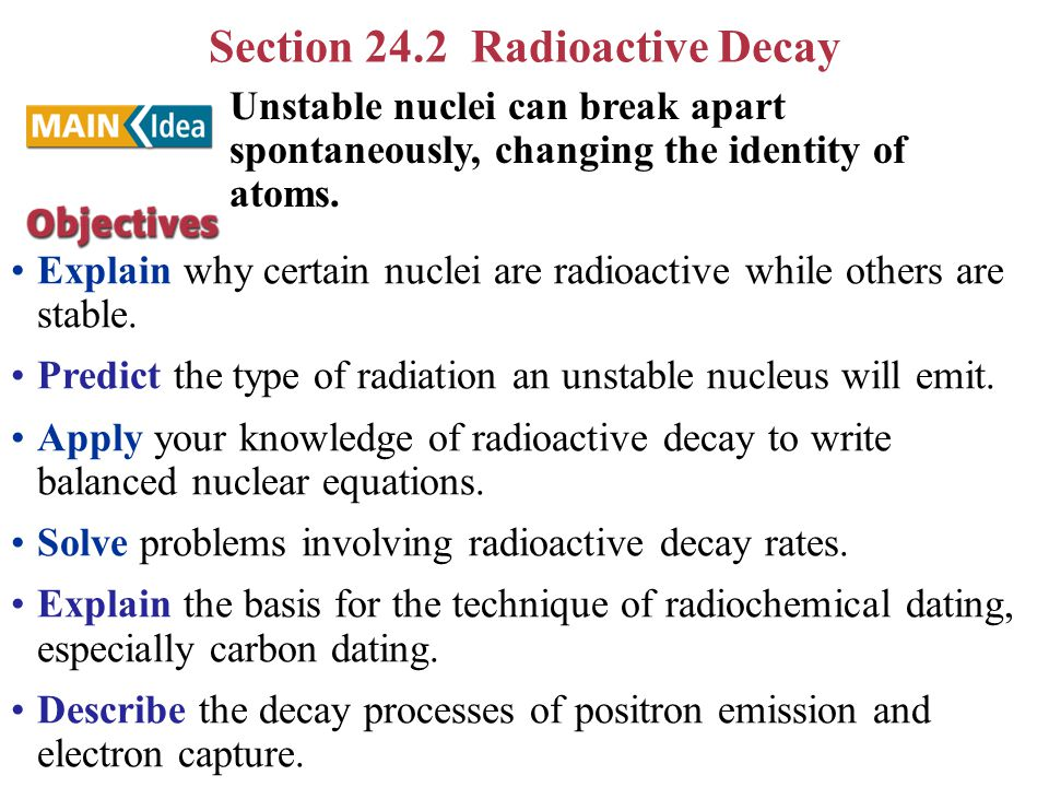 how is radioactive dating harmful