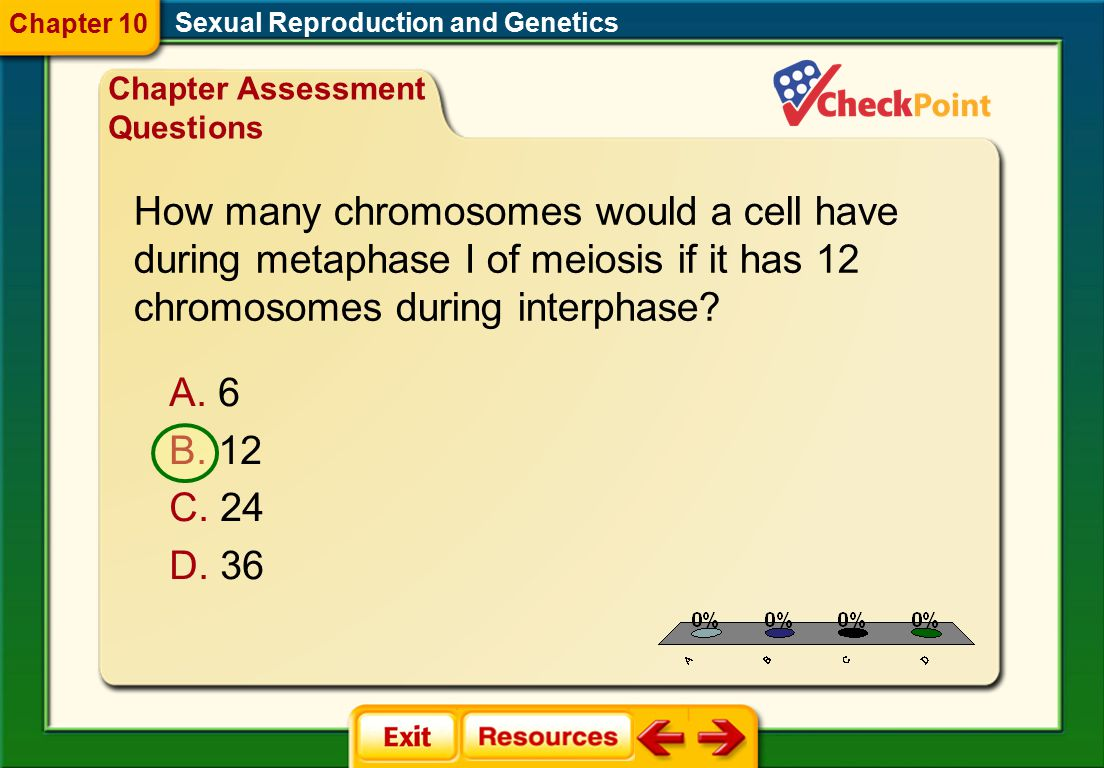 How many chromosomes would a cell have