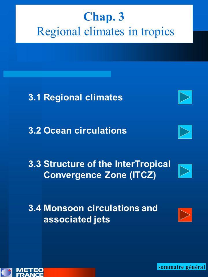 Chap. 3 Regional climates in tropics