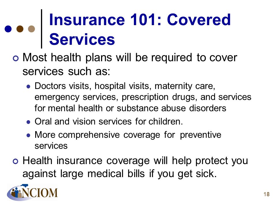 Insurance 101: Covered Services
