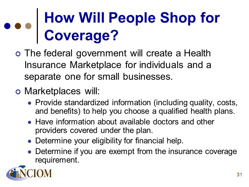 How Will People Shop for Coverage