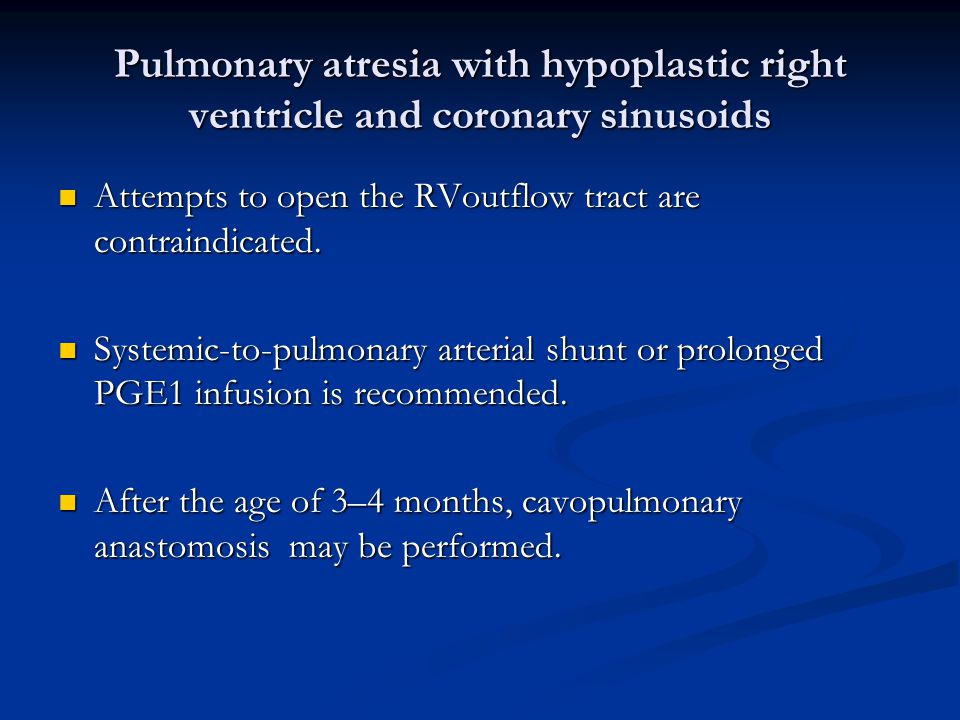 Pulmonary atresia with hypoplastic right ventricle and coronary sinusoids