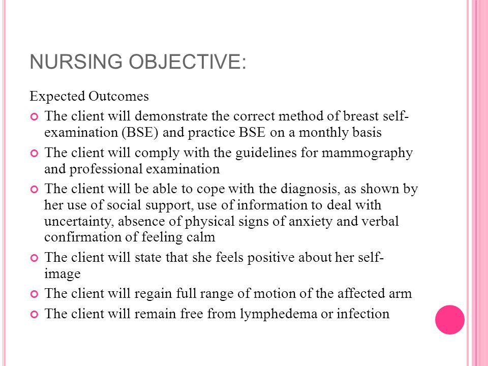 Breast cancer self examination instructional video 1 - 1 part 9