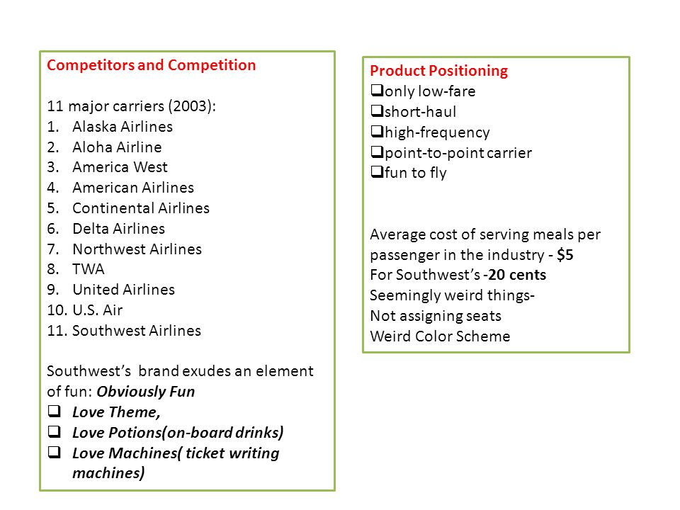 2011 southwest airlines case study harvard business review Southwest airlines swot analysis - swot means strengths, weaknesses, opportunities, threats - a business assessment exercise to help southwest airlines swa focus on best practices, more revenues, profits, efficiencies, leadership skills.