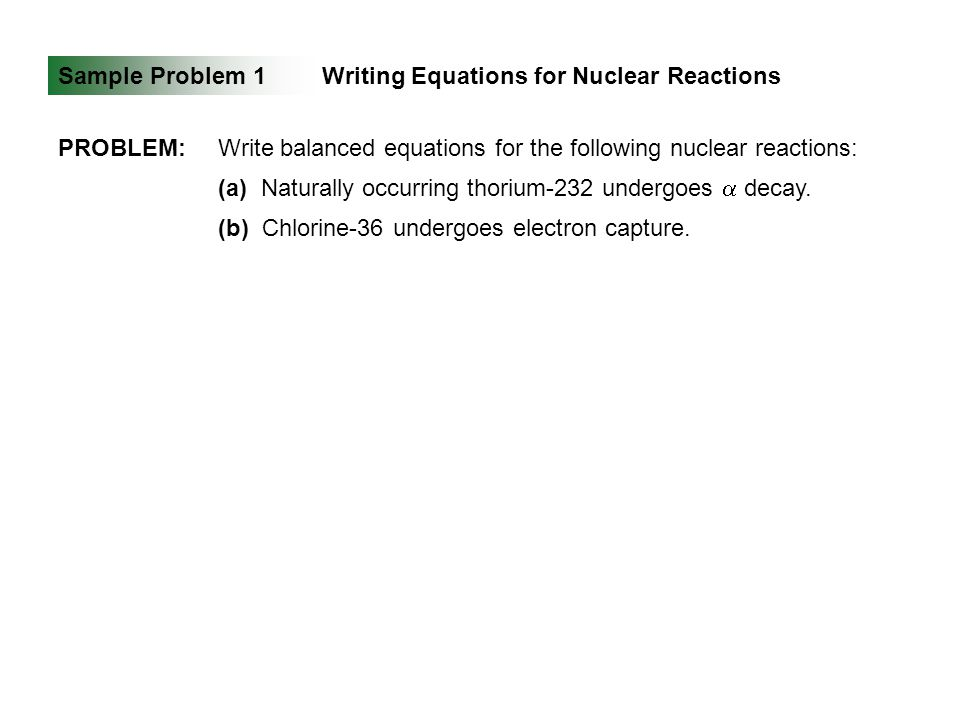 7 Effective Essay Tips About Writing Nuclear Reactions