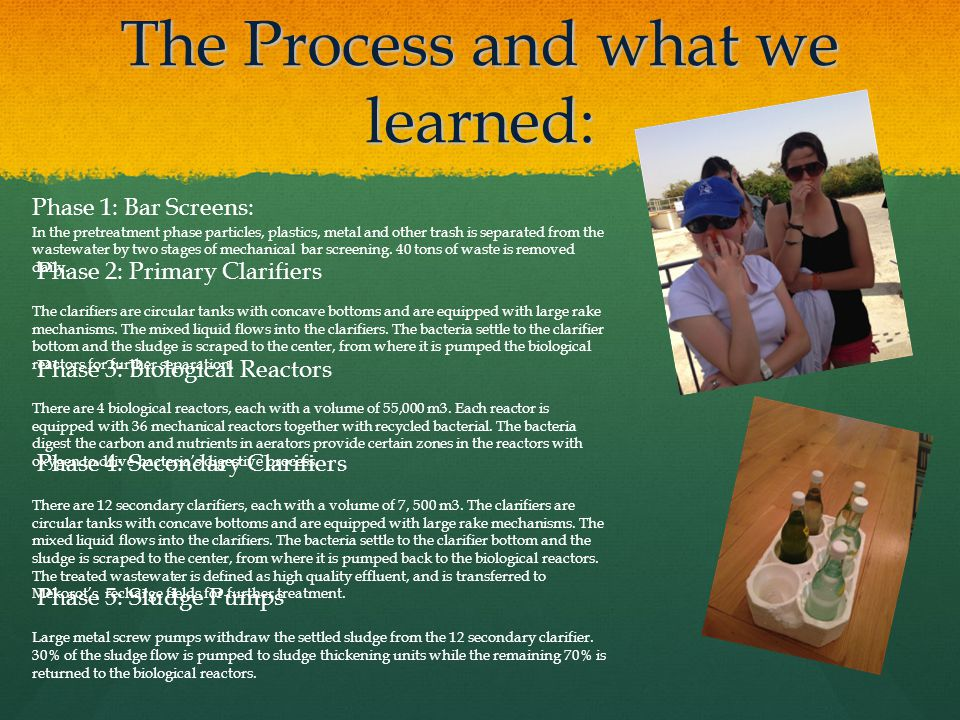The Process and what we learned: