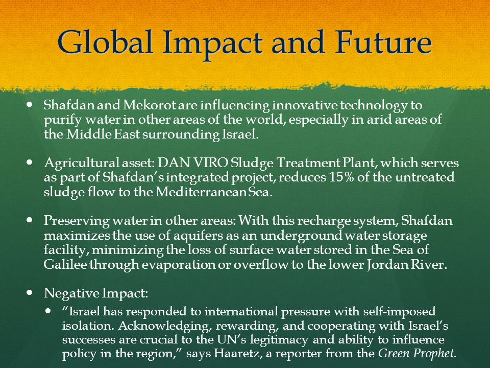 Global Impact and Future