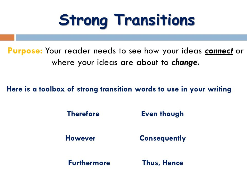transitions for essay writing Essay writing transitions our company can provide you with any kind of academic writing services you need: essays, research papers, dissertations etc assisting you is.