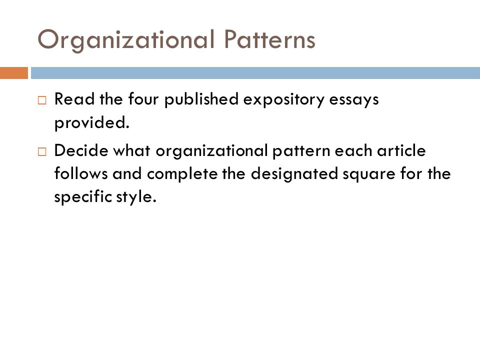 Exposition Essay Examples