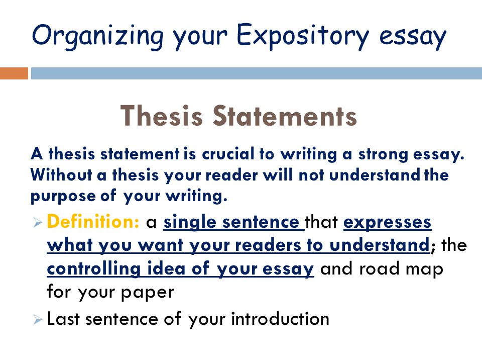purpose of expository writing