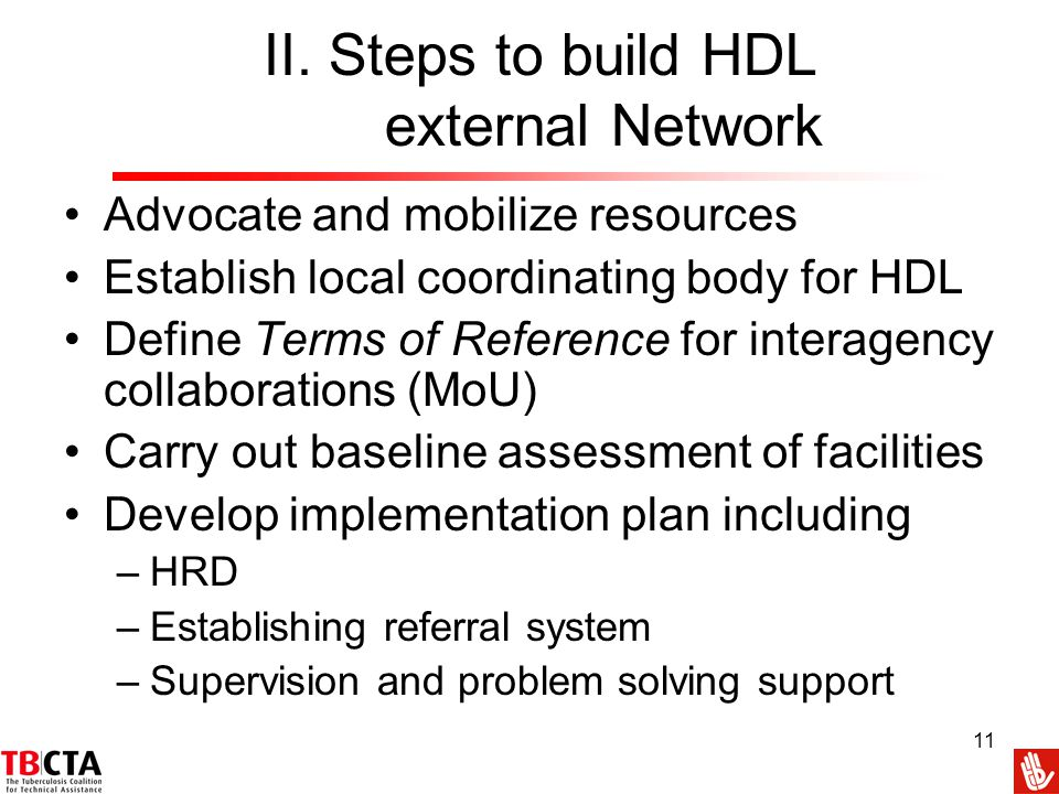II. Steps to build HDL external Network