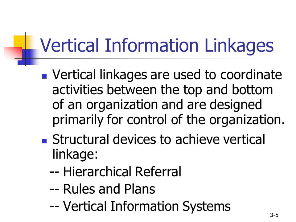"""organisational structures and vertical information linkages management essay A """"vertical"""" organization chart might look something like this:  much of the last  20 years on customer relationship management (though i forget  allow  multiple parts of an organization to access customer information and use it  the  point of this little essay is to help you understand a little bit more about."""