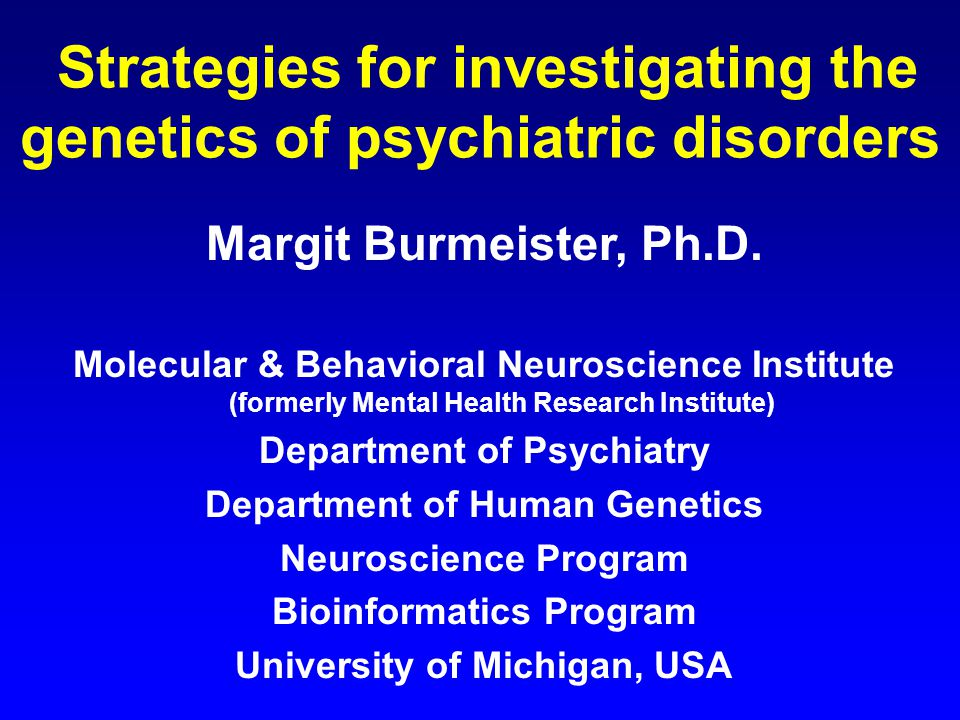 an introduction to the schizophrenia a psychiatric disorder