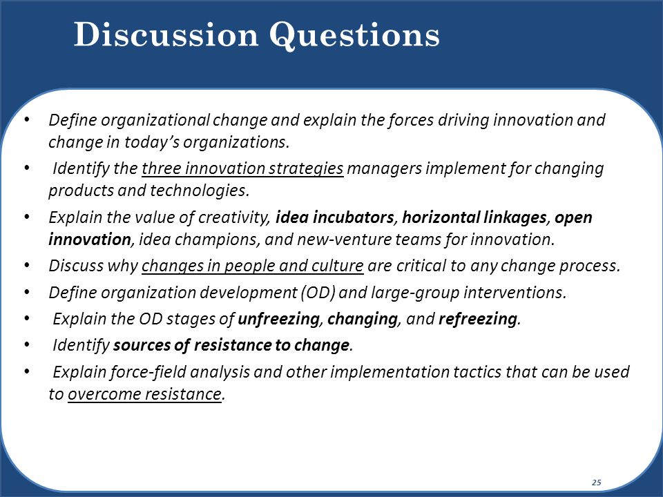 conditions necessary for successful organizational change and development Line management, strategic partnerships with hrm, trainers as organizational change consultants, influence corporate culture because the outcomes are important for business success and organization development that enhance the organization's competitiveness and effectiveness.