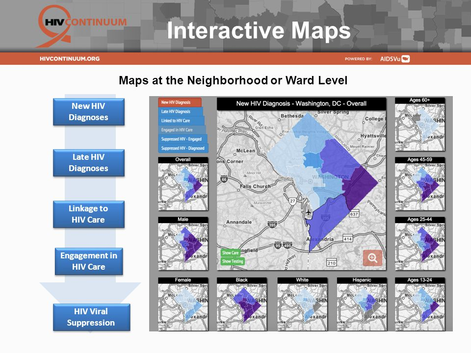 Interactive Maps Maps at the Neighborhood or Ward Level