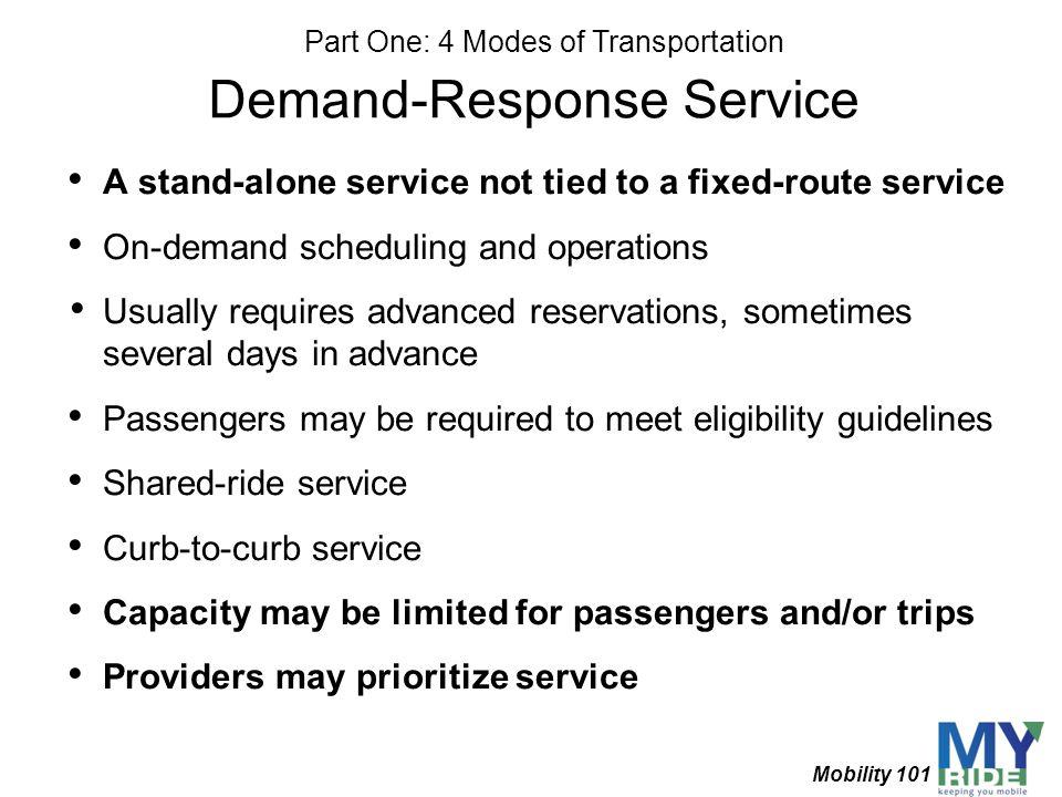 Demand-Response Service
