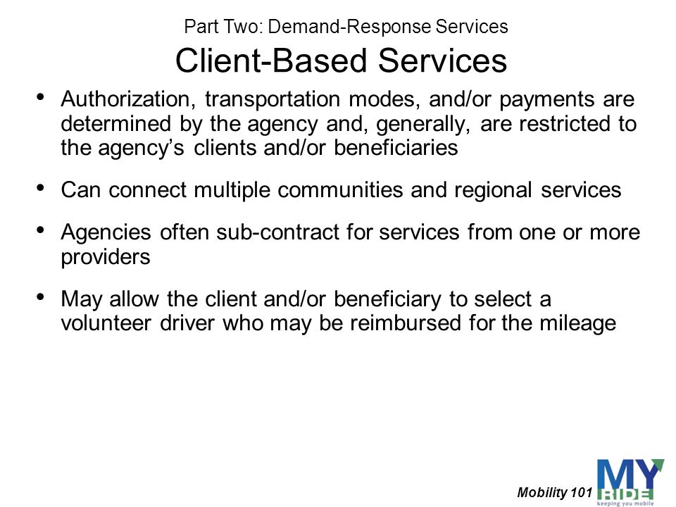 Client-Based Services