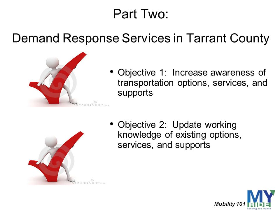 Demand Response Services in Tarrant County