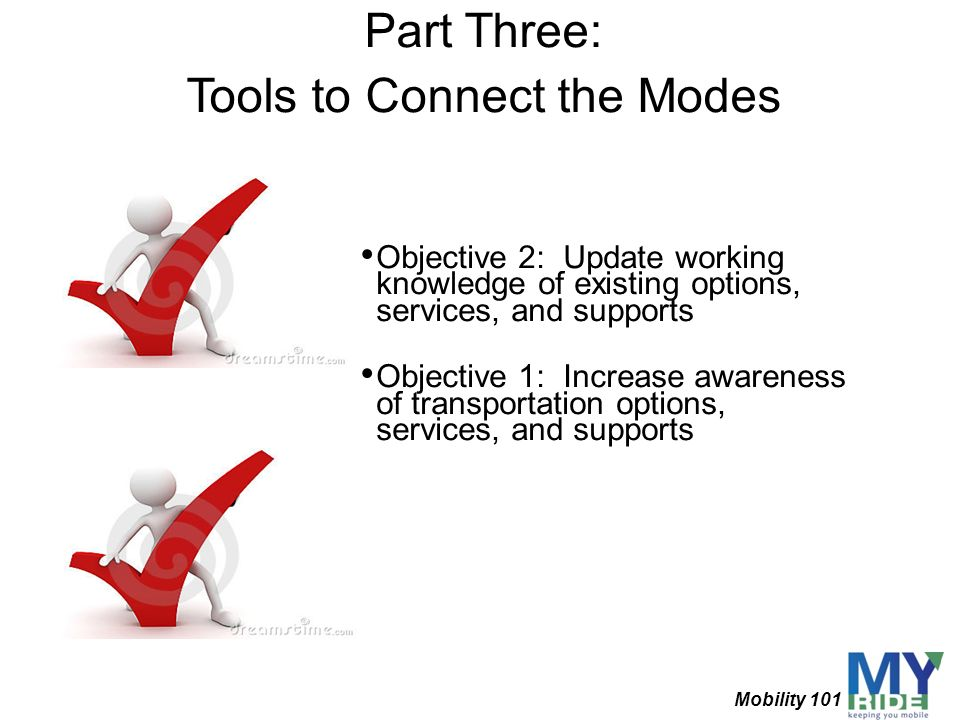 Tools to Connect the Modes
